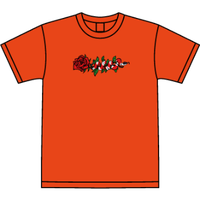 ROSE AND SNAKE S/S TEE / Orange