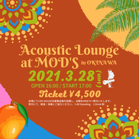 〘 RICKIE GENE Acoustic Lounge〙at MOD'S(沖縄/北谷)