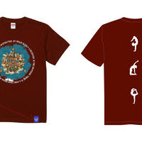 【KIDS】MIROKU T-shirt(DEEP RED)