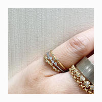 Belle diamond ring eternity