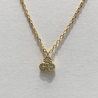 Belle diamond necklace