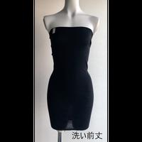 long belly warmer (ロング腹巻き)・ブラック