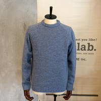 [FUJITO] Crew Neck Rib Knit Sweater