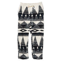 [snow peak] Mountain Printed Fleece Pants