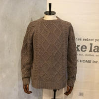 [snow peak] Mixed knit pullover