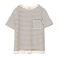 [snow peak] C/L Striped Pullover