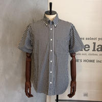 [MANUAL ALPHABET] GINGHAM B.D. SHIRT(S/S)