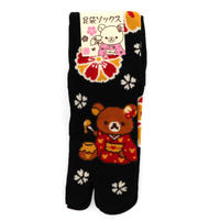 RLS-131-01 足袋ソックス 【彩り桜】