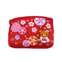 RLS-038-04 茶房 底はぎポーチ 彩り桜
