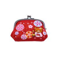 RLS-038-03 茶房 くしUカンがま口 彩り桜