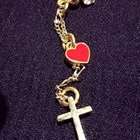 Loveli cross ピアス