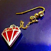 hope in my heart ~enthusiasm~  ピアス