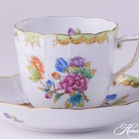 ヘレンドコーヒーカップ・ソーサー/ヘレンドクイーンビクトリア