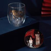 天官賜福 ★ グラス・コースターセット《双层玻璃杯&杯垫套装》【予約商品・10月以降の発送】