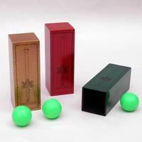 ★手品・マジック★ 木製チューブと謎のボール★W5381