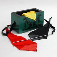 ★手品・マジック★ 木製ボックスとスカーフ★W5419