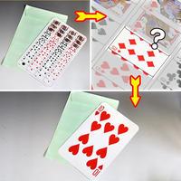 ★手品・マジック★究極のギャグカード★C5982