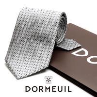ドーメル - フランス製 フォーマルネクタイ シルバー 慶事用 DM005