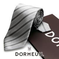 ドーメル - フランス製 フォーマルネクタイ シルバー 慶事用 DM069