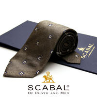 スキャバル - イタリア製 ネクタイ SC-014