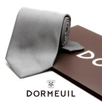 ドーメル - フランス製 フォーマルネクタイ シルバー 慶事用 DM034