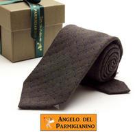 アンジェロ -「 愛が伝わる」天使のネクタイ イタリア製生地 ウール&シルク AG44