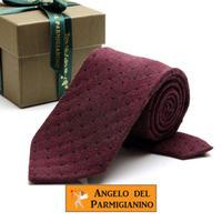 アンジェロ -「 愛が伝わる」天使のネクタイ イタリア製生地 ウール&シルク AG45