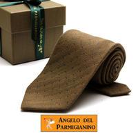 アンジェロ -「 愛が伝わる」天使のネクタイ イタリア製生地 ウール&シルク AG43