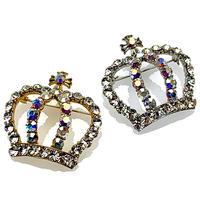 ラペルブローチ2 Large Crown