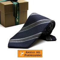 アンジェロ -「 愛が伝わる」天使のネクタイ イタリア製生地 ウール&シルク AG46