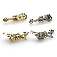 ラペルブローチ4 Music Instruments