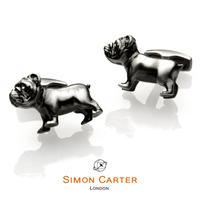 サイモンカーター - 英国製 カフリンクス ブルドッグ 267046