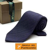 アンジェロ -「 愛が伝わる」天使のネクタイ イタリア製生地 ウール&シルク AG41