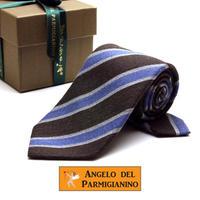 アンジェロ -「 愛が伝わる」天使のネクタイ イタリア製生地 ウール&シルク AG47
