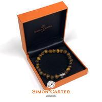 サイモンカーター - 英国製 パワーストーンブレスレット 261202/2 タイガーアイ