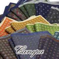 カネパ - イタリア製 ポケットチーフ まとめ買い 3枚で25%OFF CA-CF-00