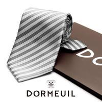 ドーメル - フランス製 フォーマルネクタイ シルバー 慶事用 DM002