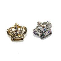 ラペルブローチ3 Crown