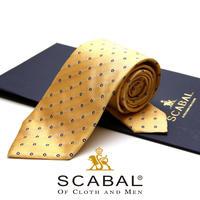スキャバル - イタリア製 ネクタイ SC-015