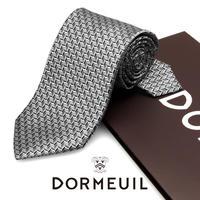 ドーメル - フランス製 フォーマルネクタイ シルバー 慶事用 DM058