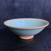 陶器 萩焼 和食器 作家 和モダン カフェ 飯碗 茶碗 器 青磁 ブルー
