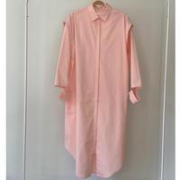 6. 〔plain〕milky matte shirt one piece【全額】