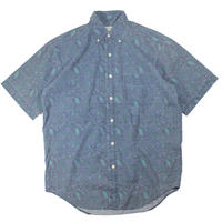 1990s BANANA REPUBLIC paisley B/D shirts