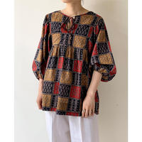 2000s Volume Sleeve Blouse