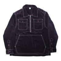 COMFORTABLE REASON / Corduroy PO Shirts Jacket (Purple)