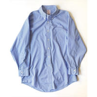"Brooks Brothers ""MADISON"" Gingham Check Shirts (Blue)"