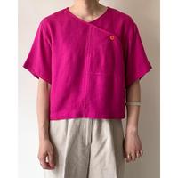 1980s Pink Designed Top