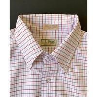 1980s L.L.Bean Tattersall check Shirt - Flap Pocket