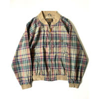 1980s Eddie Bauer  Madras Check Jacket