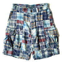 2000s Ralph Lauren Patchwork Cargo Shorts